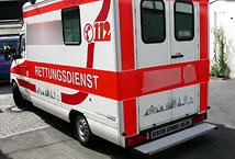 Krankenwagen Haftpflichtschaden